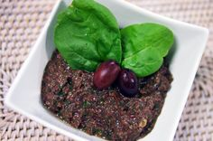 Olive Spinach Tapenade Recipe   Raw Blend