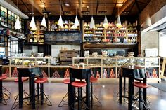 Shop in athens vape bar, coffee franchise, coffee shop design, cafe design Healthy Prawn Recipes, Healthy Food List, Healthy Snacks, Protein Packed Breakfast, Breakfast Bowls, Food Vocabulary, Espresso Bar, Nutrient Rich Foods, Food Places