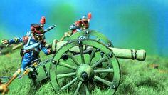 Cannone e artiglieri francesi