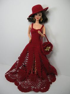 All inclusive gift! Just WOW! This is a Barbie collector type of dress and doll…