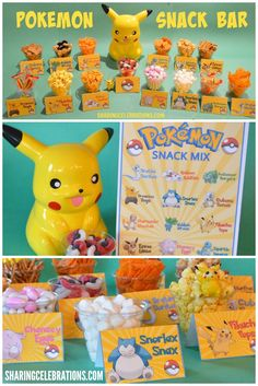 Pokemon Snack Bar