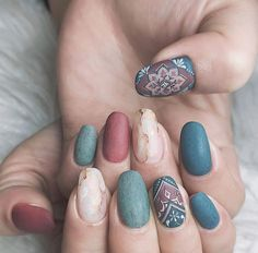 In look for some nail designs and some ideas for your nails? Here's our list of must-try coffin acrylic nails for trendy women. Fall Nail Art Designs, Cute Nail Designs, Tribal Nail Designs, Tribal Nails, Gel Nails, Acrylic Nails, Nail Polish, Manicures, Coffin Nails