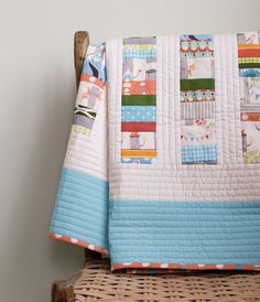Organic Baby Quilt WOODLAND CELEBRATION in by organicquiltcompany, $265.00