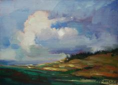 Prairie Light  oil painting Mary Maxam