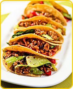 Bok Choy Tempeh Tacos Meatout Mondays