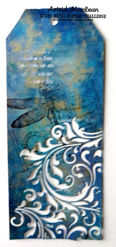 Astrid's Artistic Efforts: Dimension for Mixed Media Monthly