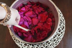 How to Make Rose Water // The Dabblist