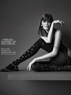 Penny Lane - Alisa Ahmann by Nathaniel Goldberg for Vogue China Jan 2015 - Balenciaga