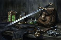 Equipment - Shadow of the Demon Lord by BrittMartin on DeviantArt