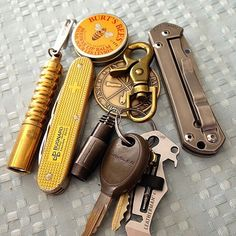 everydaycarry-ig: 500! From @camobam Spring break pocket assortment, tools with…
