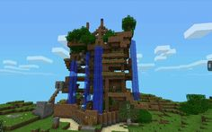 My siblings and I made this epic house in minecraft PE.