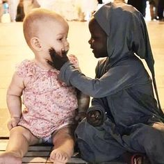 """""""We are all born in love. Nobody is born with hate in our hearts."""" Share the love today. http://thetig.com/face-hate-share-love/"""