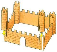 "Tutorial ~ TLC Family ""How to Make Paper Castles for Kids"""