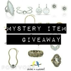None of this weeks Mystery Items have been purchased yet. So here is a clue for Item #2: You might find this item in the City of Lights.   Remember, there are 4 weekly Mystery Items and if you purchase one of these items during that week, you will WIN a FREE item of YOUR CHOICE of equal or lesser value. Shop online at:www.chloeandisabel.com/boutique/thecelticpearlor contact me to order.   #Free #Giveaway #Mystery #item #win #buy #jewelry #fashion #necklaces #bracelets #earrings #rings…