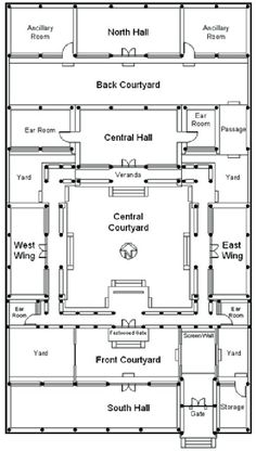 (PDF) Classical courtyard houses of Beijing: architecture as cultural artifact Architecture Courtyard, Japan Architecture, Vernacular Architecture, Chinese Architecture, Modern Architecture House, Futuristic Architecture, Chinese Buildings, Modern Houses, Sustainable Architecture