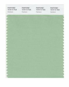 Pantone hemlock green