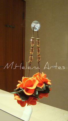 Flor no espelho