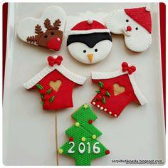 Butik Pasta Kurabiye Makaron: Yılbaşı Kurabiyeleri (Christmas Cookies)