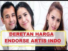 harga endorse artis indonesia, artis indonesia populer, endorse merupakan bisnis yang luar biasa menjanjikan untuk anda semua. banyak orang yang atau artis y...