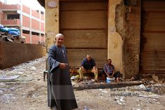 Men in the Garbage City. Photo: Barbora Sajmovicova, 2011, Nikon D3100.