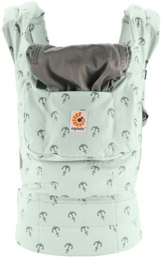 We are loving this mint anchor Sea Skipper Ergo Baby Carrier. A Must Have!!