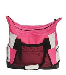 2b81fb4ae014 Zip Top Tote Dance Bag - Pink with black trim. Girls DancewearDance BagsYou  Go ...