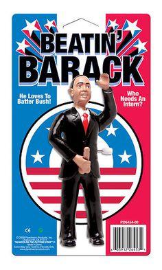 Beatin Barack Obama Stimulating Package President Gag Toy Gift Sex Novelty