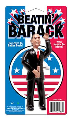 Beatin Barack Obama Stimulating Package President Gag Toy Gift Sex Novelty