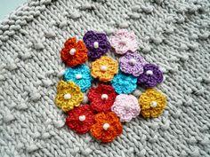 Ravelry: Teeny Tiny Crochet Flowers pattern by Penny Peberdy