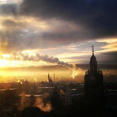 Glasgow skyline by amyleemaxwell on Instagram #glasgow2014 #glasgow #scotland www.glasgow2014.com
