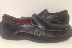 Donald J Pliner Estro Mens Slip On Loafers Size 8.5 #DonaldJPliner #LoafersSlipOns