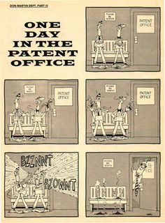 one day in the patent office | don martin