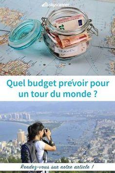 Vous avez décidé de partir en tour du monde mais vous avez besoin d'aide pour le budget ? Voici nos conseils pour prévoir votre budget tour du monde. #tourdumonde #budgetvoyage #voyage #travel