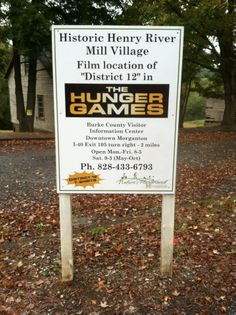 hunger games and its in MORGANtown..... thats it... this is where I shall live.. so um.... where is it?