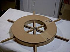My Pirate Costume Ship's Wheel! – Roxana My Pirate Costume Ship's Wheel! My Pirate Costume Ship's Wheel!: 12 Steps (with Pictures) Pirate Birthday, Pirate Theme, Birthday Board, Card Birthday, Pirate Ship Wheel, Pirate Ships, Pirate Ship Craft, Cardboard Pirate Ship, Decoration Pirate