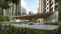 ledge with greenary detail high rise - Google Search