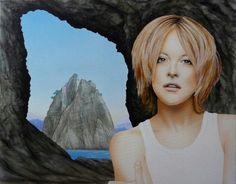 Airbrush on Canvas
