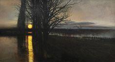 """Stanisław Masłowski """"Moonrise"""""""