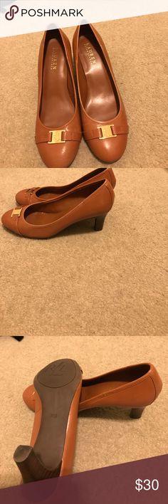 Lauren Ralph Lauren Lauren Ralph Lauren women shoes , like new beautiful color . Size 7.5B Lauren Ralph Lauren Shoes Heels