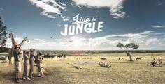 Live the Jungle by Julio Vilas Toro, via Behance