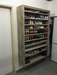 Insanely Genius DIY Pallet Storage Ideas 19