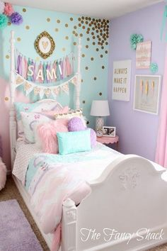 The Fancy Shack: Pastel Colors, Girls Room Makeover!