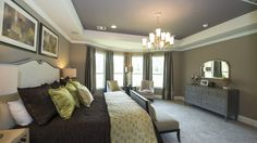 Plenty of natural light in this spacious master bedroom