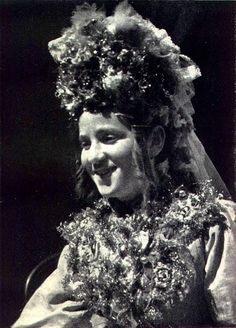 bride from the island of susak in croatia