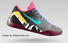 9e6cf09ea918 Custom Nike Kobe Bryant basketball shoes Kobe Bryant Basketball Shoes