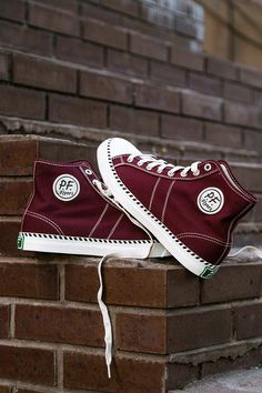 Run faster and jump higher in a pair of the iconic PF Flyers Rambler Hi.