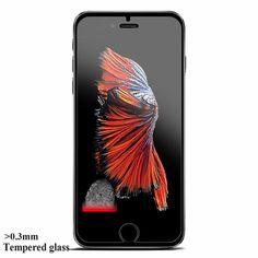 0.3mm 9 H vidrio templado Para el iphone 4S 5 5S 6 6 s plus screen protector de la película protectora cubierta de la caja