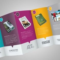 Beautiful Deca Fold Brochure design 3 20+ Simple Yet Beautiful Brochure Design Inspiration & Templates.