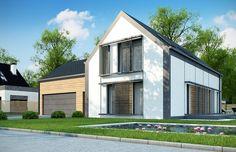 Projekt domu z poddaszem Z373