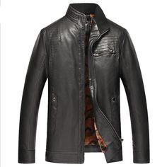 >> Click to Buy << winter men's leather jacket leather fur jacket thickening chaquetas hombre 2016 mens jackets abrigo hombre veste homme #Affiliate